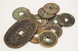 幅広い世代から人気の古銭