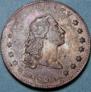 フローイング・ヘア・ダラー硬貨