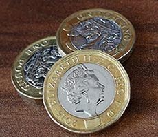 デザインが美しいイギリスの硬貨
